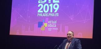 José María Antón diserta sobre educación exponencial y la Agenda 2030, en la conferencia anual ISTE 2019.