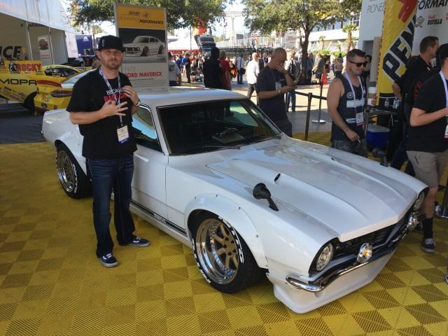 Ford Maverick - Sung Kang's U3 aka Underdog project car