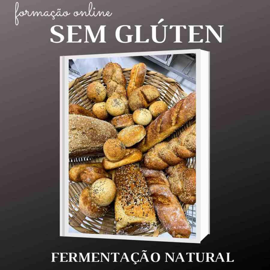 curso pães sem glúten de fermentação natural