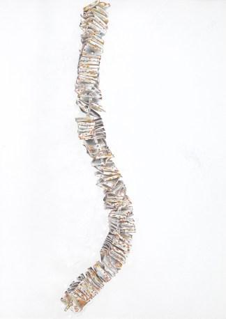 Drawing by Jane Irwin at Sivarulrasa Gallery