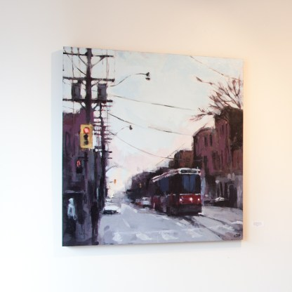 Painting by Jeremy Price at Sivarulrasa Gallery in Almonte, Ontario
