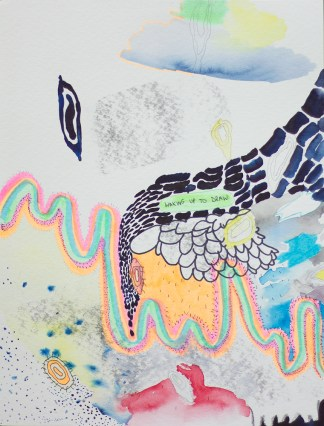 Works on Paper by Mirana Zuger at Sivarulrasa Gallery