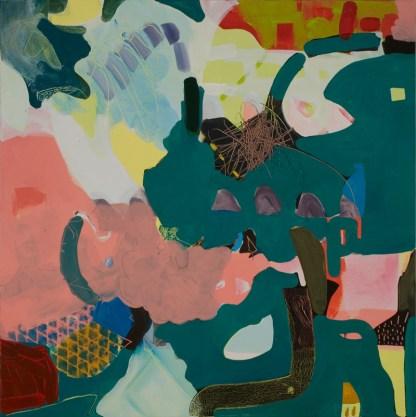 Painting by Mirana Zuger at Sivarulrasa Gallery