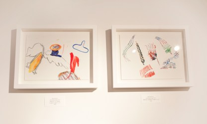 Works on Paper by Mirana Zuger, Installation View at Sivarulrasa Gallery