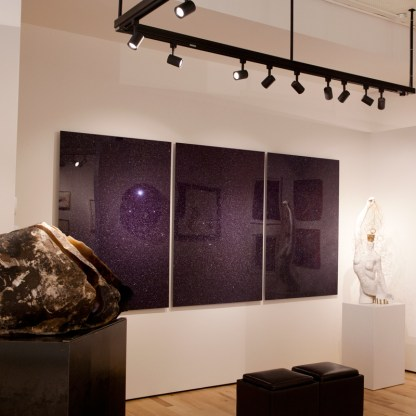 Photographic works by Sanjeev Sivarulrasa, Installation view at Sivarulrasa Gallery in Almonte, Ontario