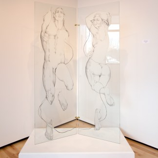 Sculpture and Drawing by Sue Adams at Sivarulrasa Gallery