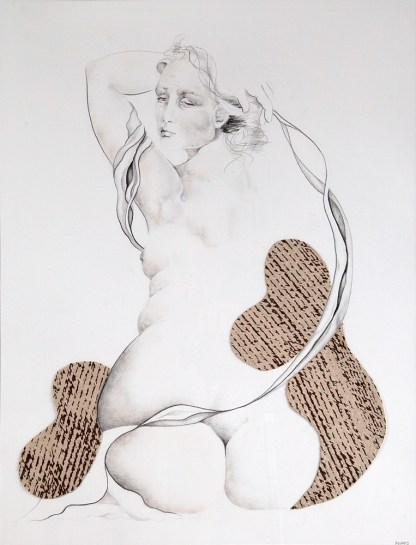 Drawing by Sue Adams at Sivarulrasa Gallery