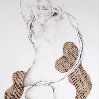 Drawing by Sue Adams at Sivarulrasa Gallery