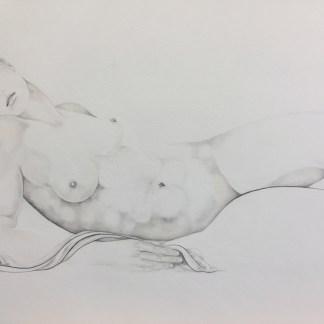 Drawings by Sue Adams at Sivarulrasa Gallery