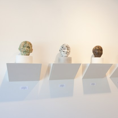 Sculpture by Susan Low-Beer, Installation View at Sivarulrasa Gallery in Almonte, Ontario