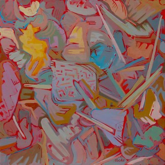 Painting by Susan Tooke at Sivarulrasa Gallery