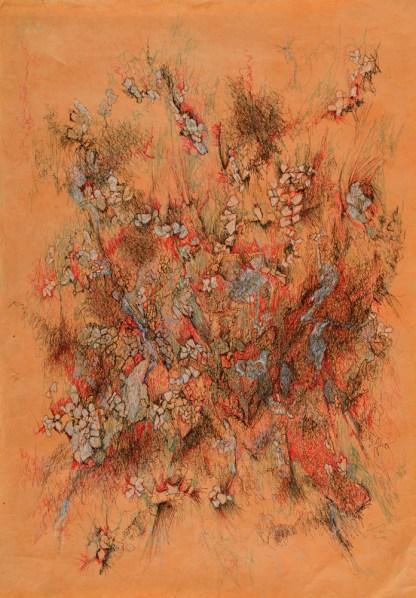 Drawing by Gayle Kells at Sivarulrasa Gallery