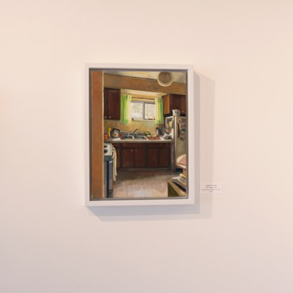 Painting by Gillian Willans, Installation View at Sivarulrasa Gallery
