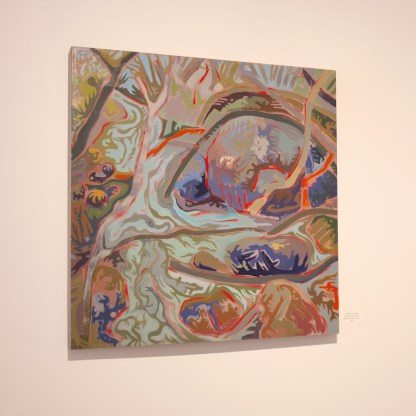 Painting by Susan Tooke, Installation View at Sivarulrasa Gallery