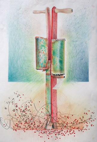 Works by Jane Irwin available at Sivarulrasa Gallery
