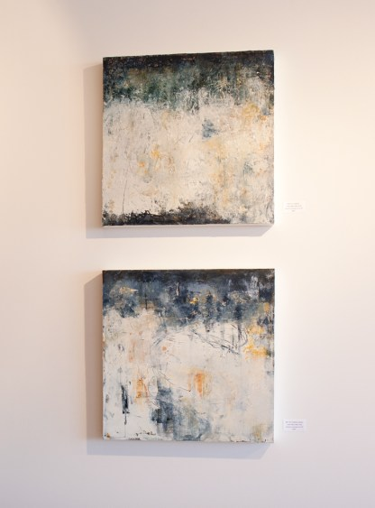 Paintings by Mary Pfaff at Sivarulrasa Gallery
