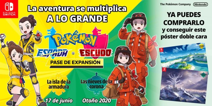 Expansion Pokémon Espada y Escudo
