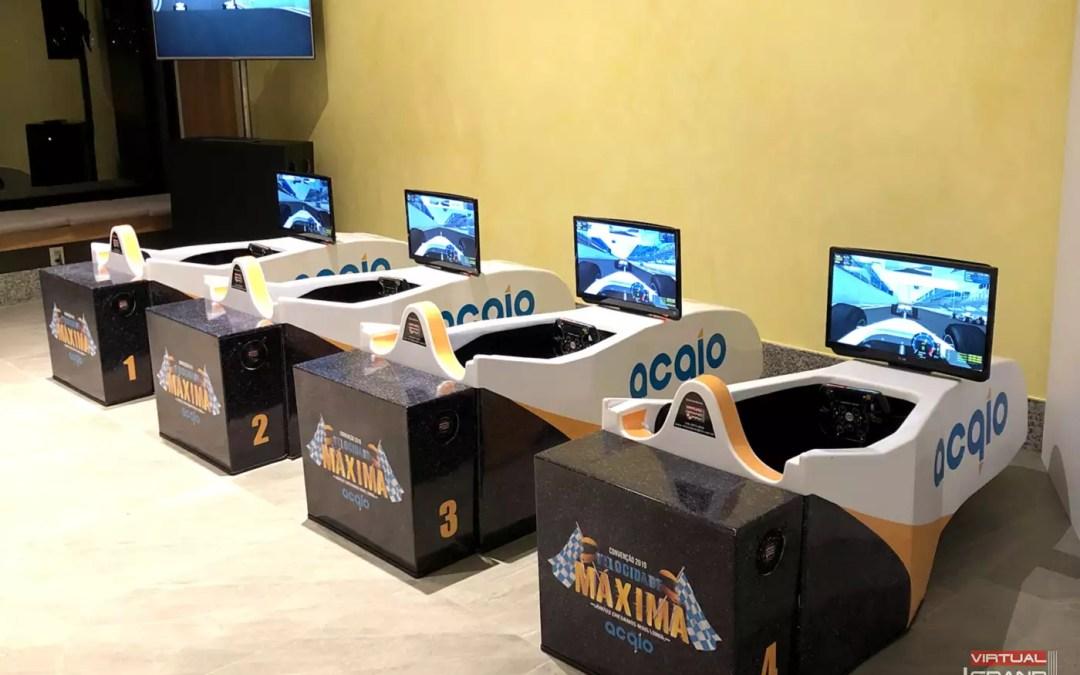 Simuladores F1 Acqio @ Convenção 2019