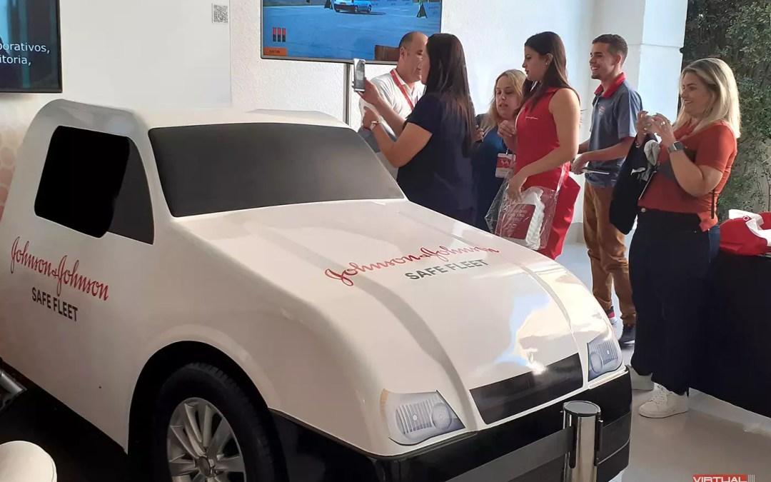 Simulador Real Car Johnson & Johnson @ Convenção 2020