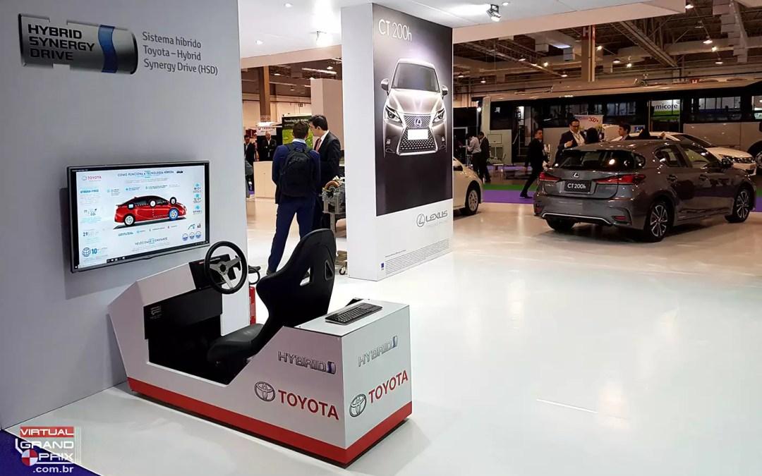 Simulador Flex Toyota @ Salão do Veículo Elétrico