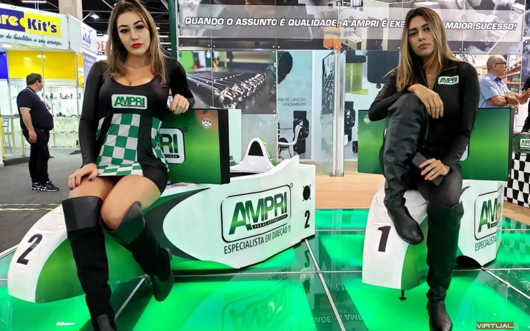 Simuladores Cockpit F1 AMPRI @ Automec 2019