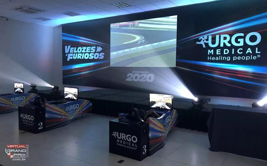 Simuladores Cockpit F1 @ Convenção 2020 / Beach Hotel Sunset