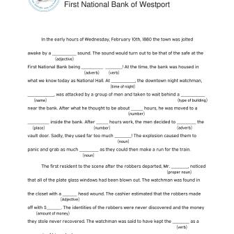 History Mad Libs - Bank Robbery-page-001