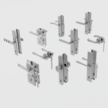 10 door handles