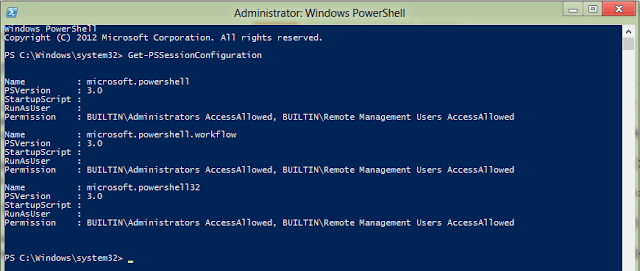 Delegated Administration in Windows PowerShell v3
