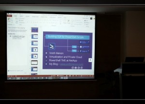 Presenting at PowerShell Bangalore User Group Meeting, July 27th 2013