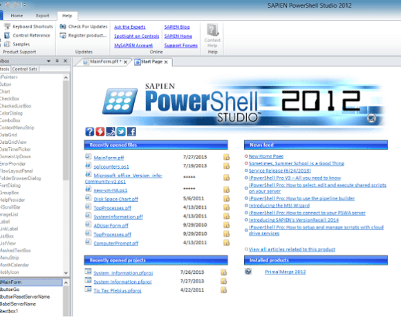 Building GUI for PowerShell Scripts