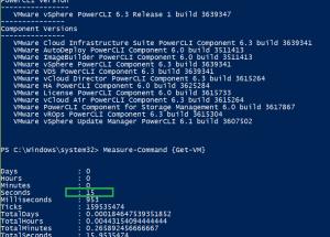 SuperFast Get-VM cmdlet PowerCli 6.3 R1
