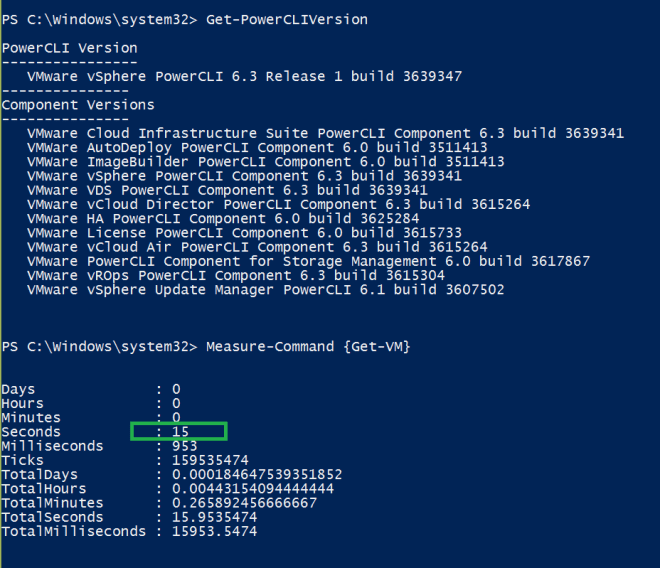 SuperFast Get-VM cmdlet PowerCli