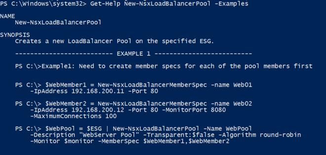 VMware NSX Edge Load Balancing