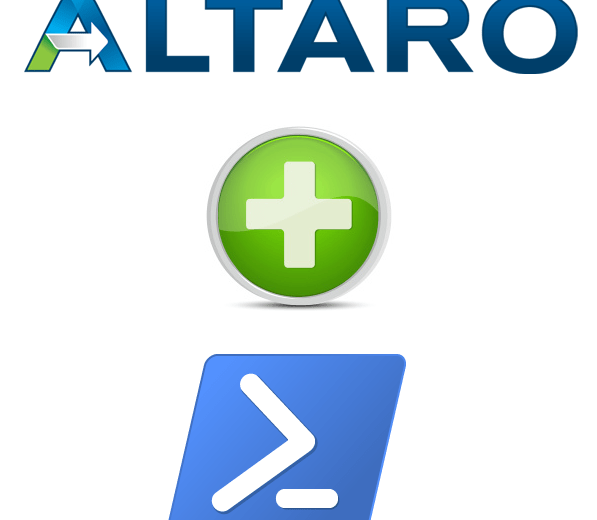 Getting Started with Altaro VM Backup and PowerShell.