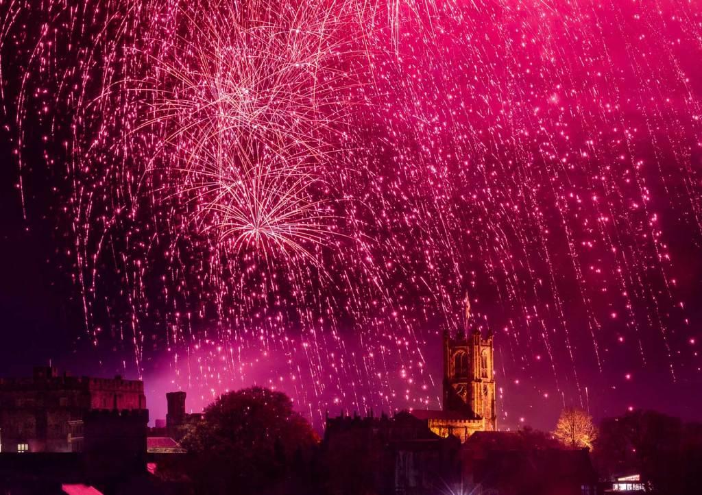 Light Up Lancaster 2019 Fireworks. Photo: Robin Zahler