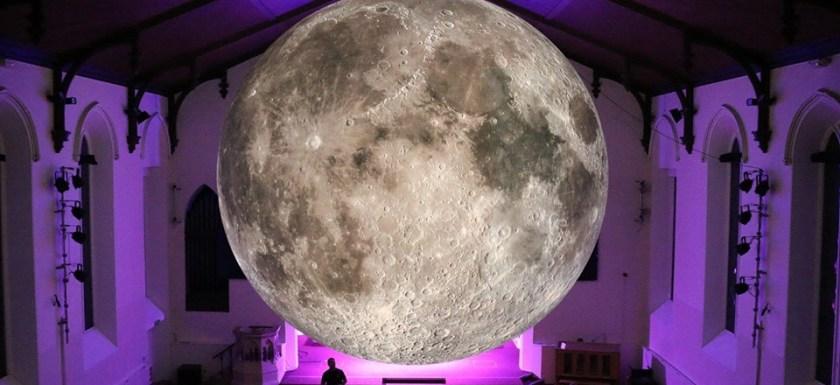 The Moon - Sculpture