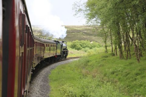 North Yorkshire Moors Train