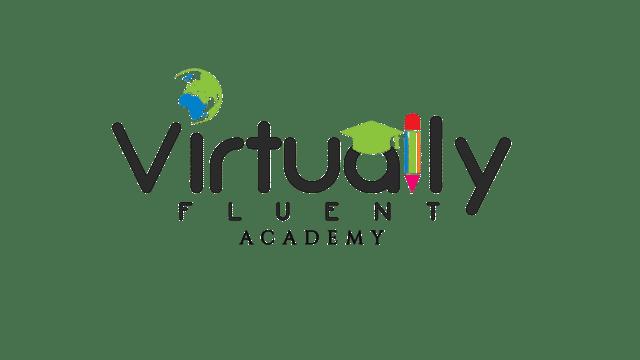 Virtually Fluent Academy Logo