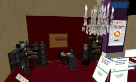 Student booth 1 - early development