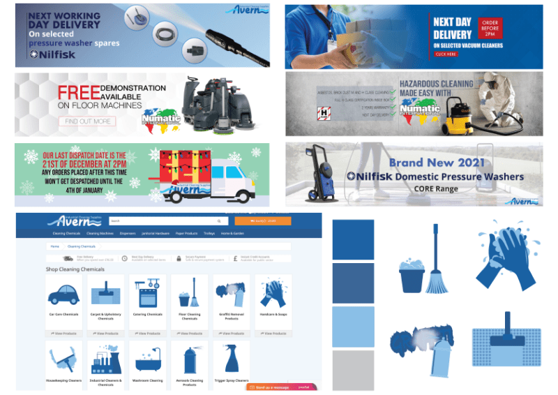 Avern Industrial Cleaning Supplies