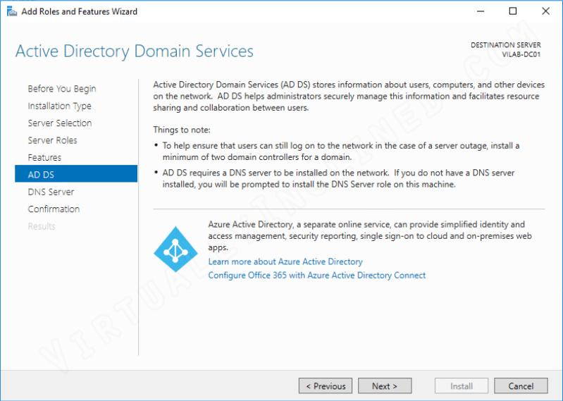 Windows Server 2016 - Active Directory Setup - Part 2