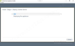 VCSA vCenter Install
