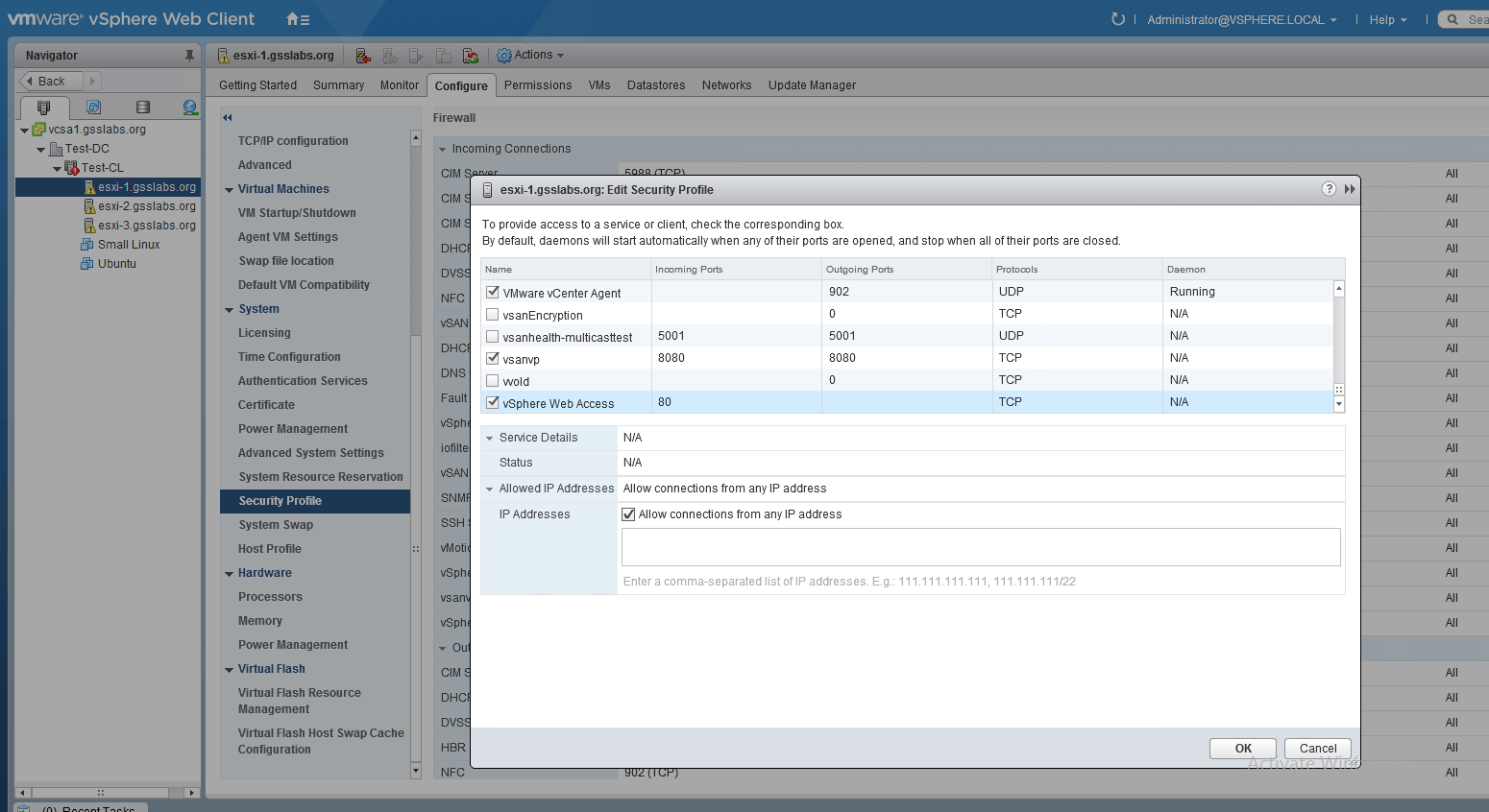 Troubleshoot vSAN VM storage policy non-compliance & VASA