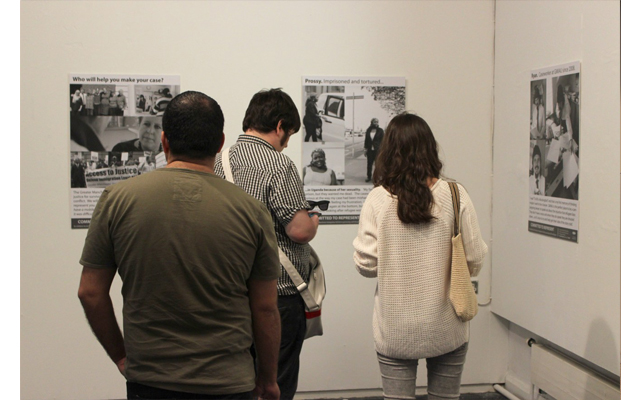 Committed To Represent – exhibition celebrating immigration caseworkers, refugees