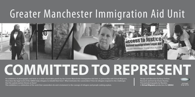 Committed To Represent - exhibition celebrating immigration caseworkers, refugees