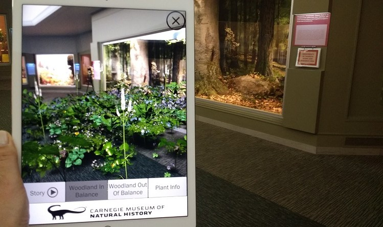 AR Perpetual Garden App,  Carnegie Museum of Natural History & Powdermill Nature Reserve