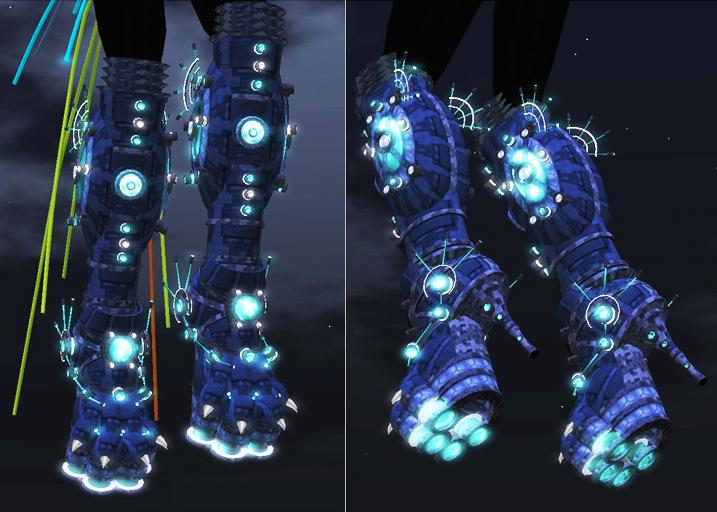 Cyberpunk boots fashion neko