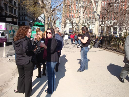 Antony Gormley Event Horizon Installation 204 Fifth Avenue