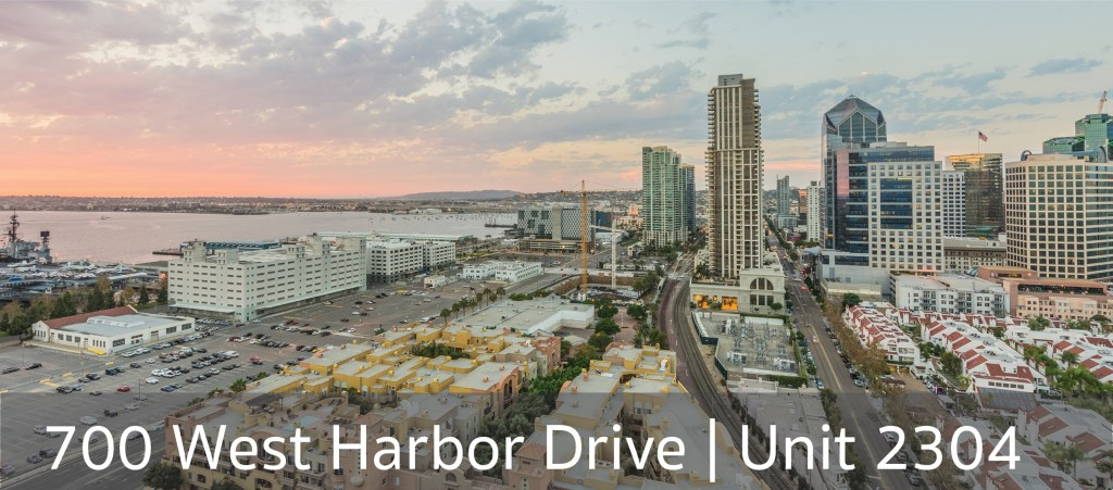 700 West Harbor Drive Unit 2304